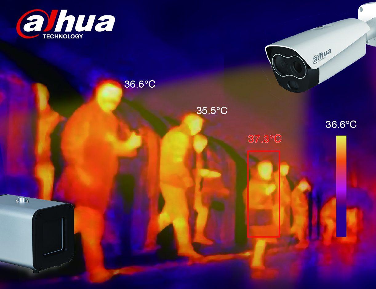 Soluciones térmicas para la nueva normalidad: Dahua Technologies