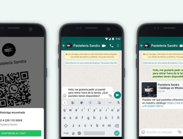 WhatsApp Business estrena nuevas funciones para los comercios en México: códigos QR para negocios y catálogos compartidos